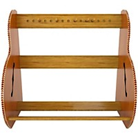 A&S Crafted Products Studio Deluxe Guitar Case Rack Special Edition Mahogany Short Size (5-7 Cases)