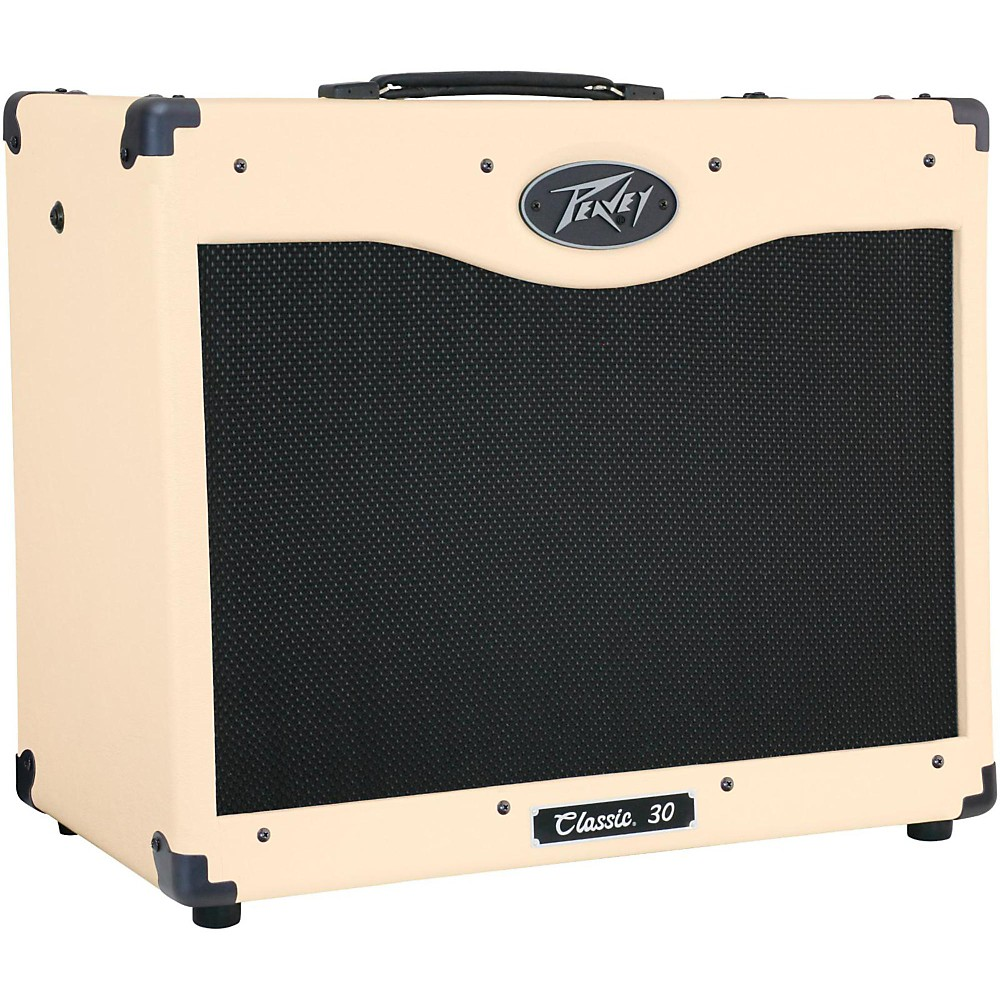 Peavey Classic 30 Special Edition 30W 1X12 Tube Guitar Combo Amp Ivory 1436193450891
