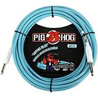 Pig Hog Instrument Cable 20 Ft. Daphne Blue