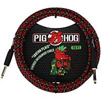 Pig Hog Instrument Cable 10 Ft. Tartan Plaid