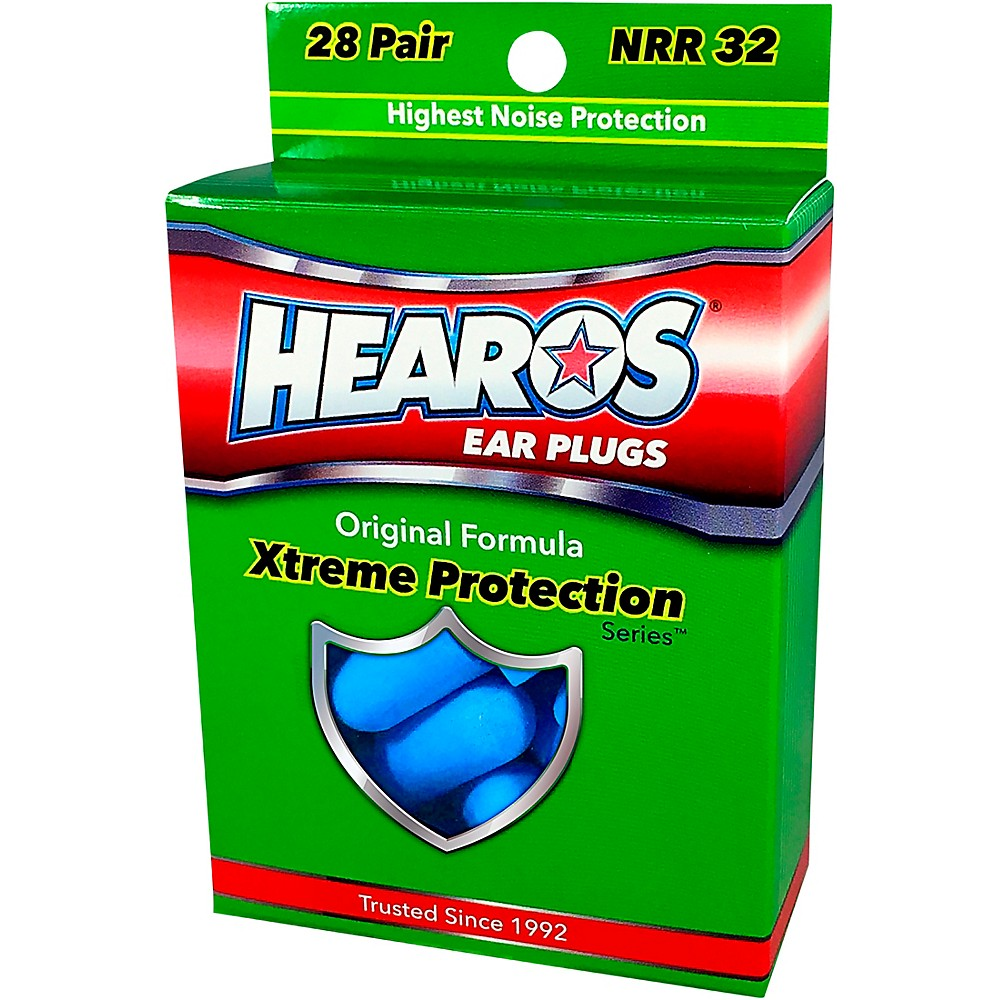 Hearos Xtreme Protection Series Ear Plugs 28 Pair 1436798376750