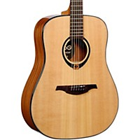 Lag Guitars Tramontane T80d Dreadnought Acoustic Guitar Natural