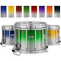 Pearl Championship Maple Varsity Lacquer Ffx Marching Snare Drum Fade Top Finish 14 X 12 In. Purple Silver #977