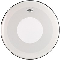 Remo Powerstroke 4 Smooth White Batter Bass Drum Head With White Dot 22 In.