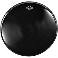 Remo Powerstroke 4 Ebony Batter Bass Drum Head With Impact Patch 28 In.