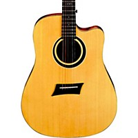 Michael Kelly Triad Ce Dreadnought Cutaway Acoustic Electric Guitar Natural