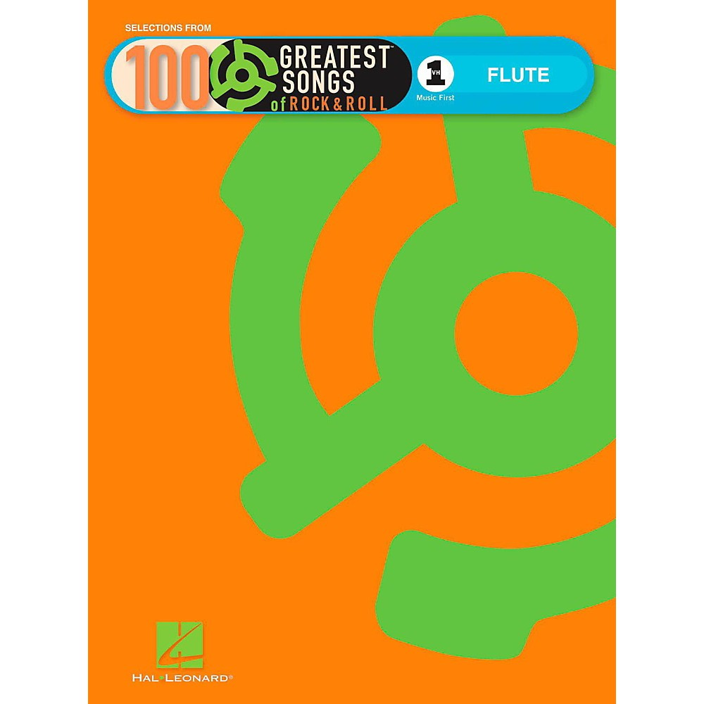 Hal Leonard Vh1s 100 Greatest Songs Of Rock & Roll Flute (Book Only)
