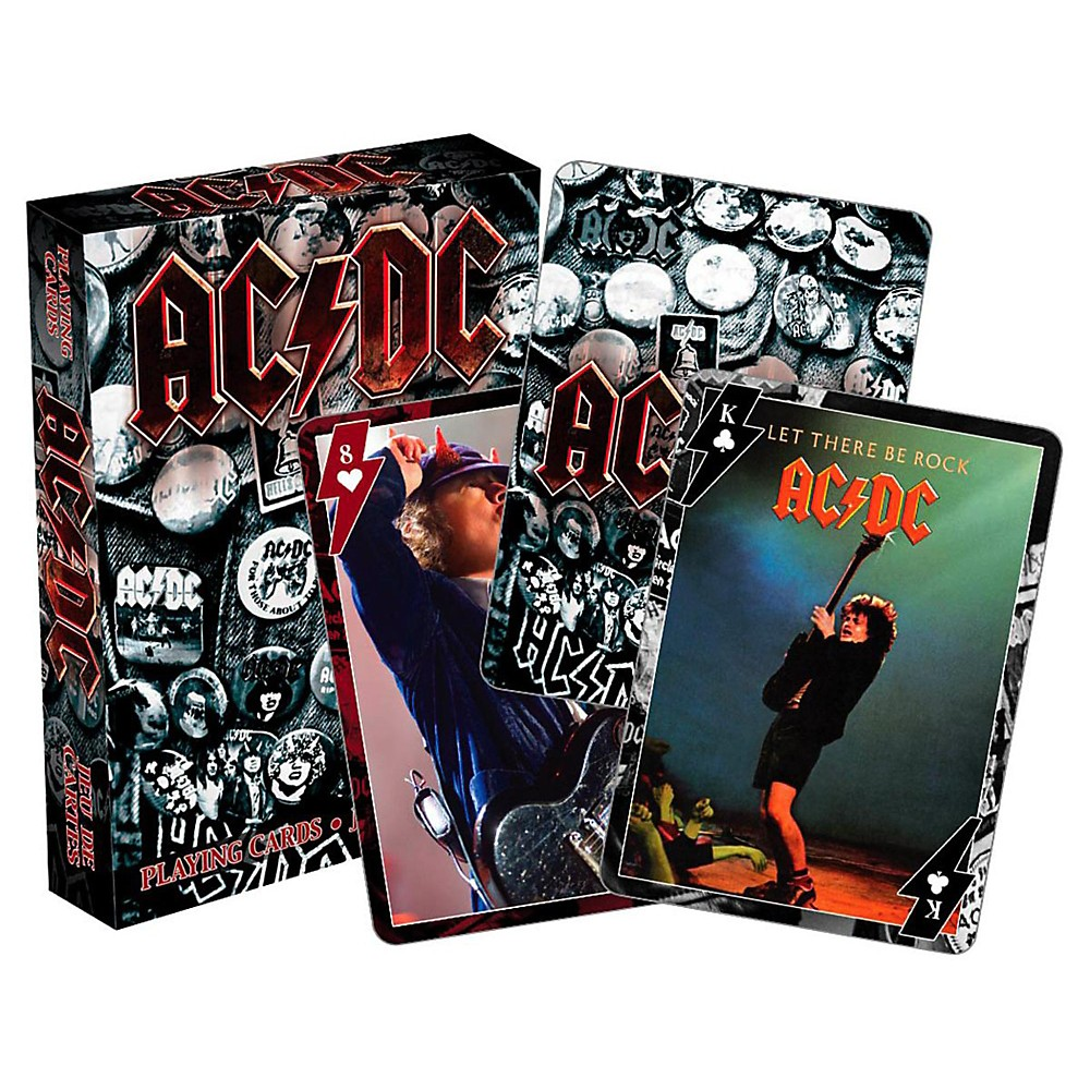 Hal Leonard AC/DC Playing Cards Single Deck 1439818607929