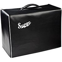 Supro 1X10 Black Vinyl Amp Cover With  ...