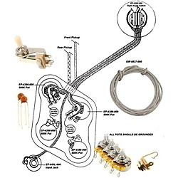Allparts Ep-4146-000 Wiring Kit For Sg
