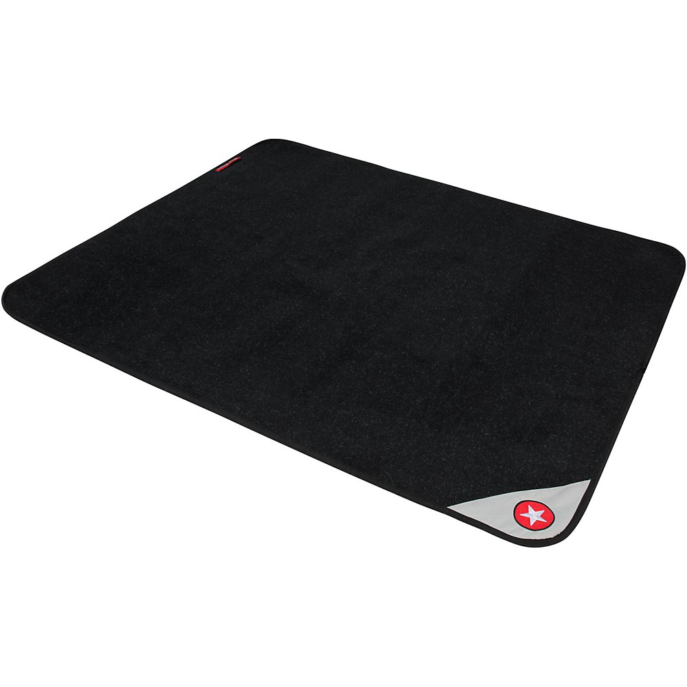 Road Runner Drum Rug With Weighted Corners