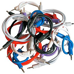 Pittsburgh Modular Synthesizers Nazca Audio Patch Cable 18-Pack For Modular Synthesizers