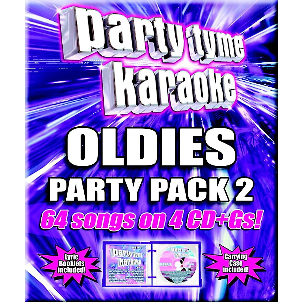Sybersound Party Tyme Karaoke - Oldies Party Pack 2 1444227500021