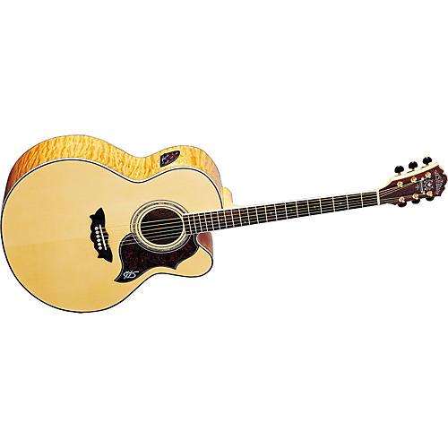 Washburn J28SCEDL Cumberland Jumbo Acoustic-Electric Guitar