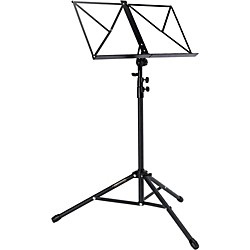 Portastand Protege Music Stand Black