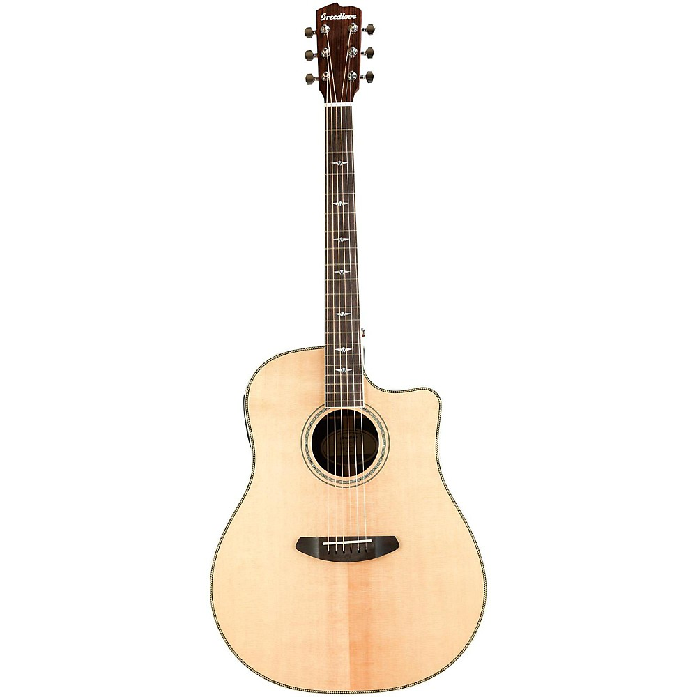 Breedlove Stage Dreadnought Acoustic-Electric Guitar Natural -  SGDR01CESSIR