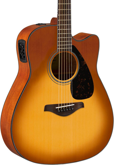 Fg Series Fgx800 C Acoustic Electric Guitar by Yamaha