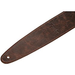 Fender Artisan Leather Guitar Strap Brown 2.5 In.