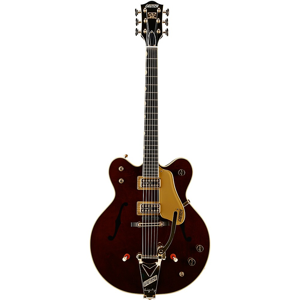 Gretsch Guitars G6122T-62GE Vintage Select Edition 1962 Chet Atkins Country Gentleman Hollowbody Electric Guitar Walnut Stain 1500000005245