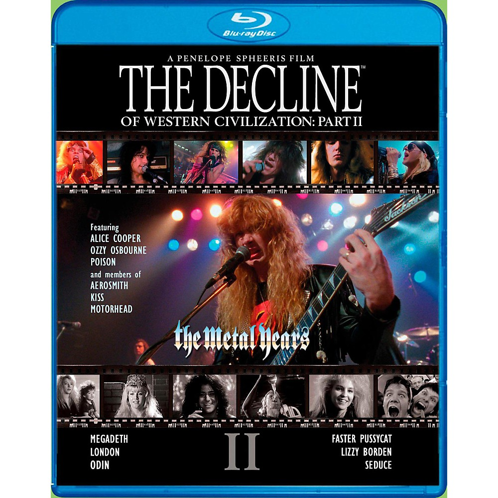Universal Music Group The Decline Of Western Civilization Part II: The Metal Years [Blu-ray] 1500000009236