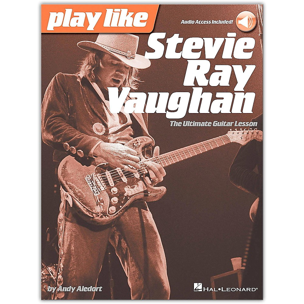 Hal Leonard Play Like Stevie Ray Vaughan - The Ultimate Guitar Lesson Book/Online Audio 1500000005307