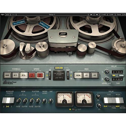 Waves J37 Tape Native/SG Software Download