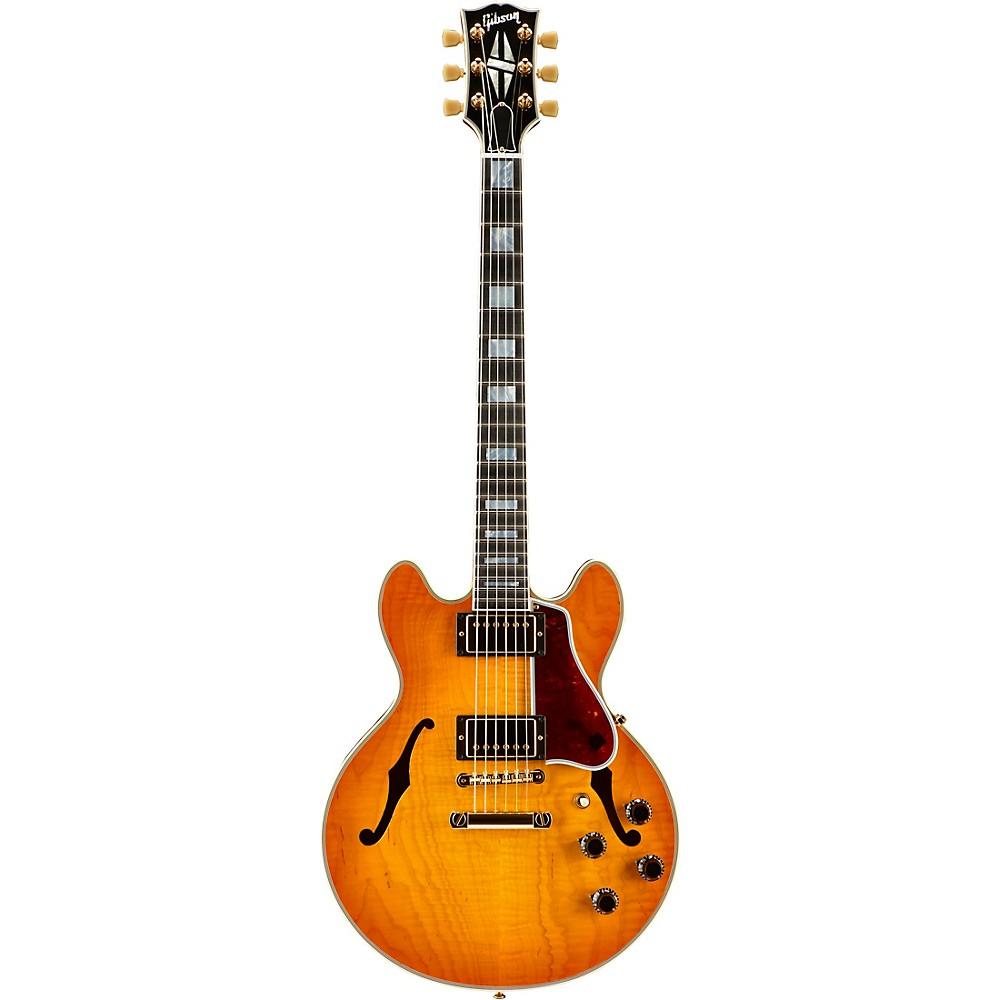 Gibson Custom CS-356 Hollowbody Electric Guitar Tangerine Burst 1500000010449
