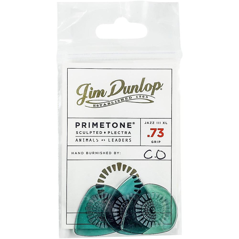 Dunlop Animals As Leaders Primetone, Green Guitar Picks .73 Mm 3 Pack 1500000006856