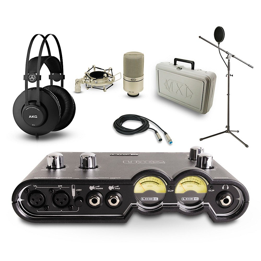 Line 6 POD Studio UX2, K52 and 990 Package 1500000011214