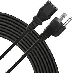 Livewire Essential Iec Power Cable 50 Ft. Black