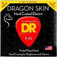 Dr Strings Dragon Skin (2 Pack) Light Coated  ...