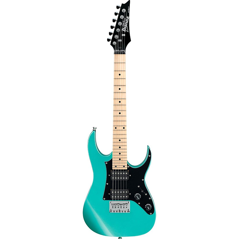 Ibanez GRGM21M miKro Electric Guitar Metallic Light Green 1500000013487