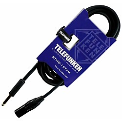 Telefunken Studio Series Trs Xlr Male Cable 6 Ft. Black