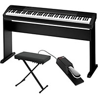 Casio Cdp-130 Digital Piano With Cs44 Wood  ...