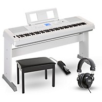 Yamaha Dgx660 88-Key Portable Grand Piano  ...