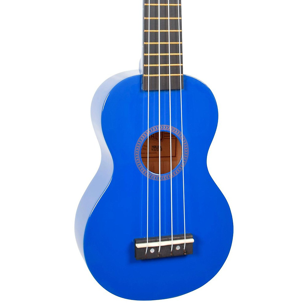 Mahalo Rainbow Series Mr1 Soprano Ukulele Blue