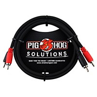 Pig Hog Solutions Dual Cable Rca To Rca (3  ...