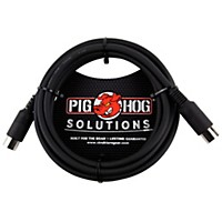 Pig Hog Midi Cable (6 Ft.) 10  ...