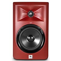 Jbl Lsr305 5 In. Limited Edition Powered Studio Monitor Matte Red