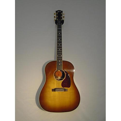 used gibson j45 cutom koa acoustic electric guitar guitar center. Black Bedroom Furniture Sets. Home Design Ideas
