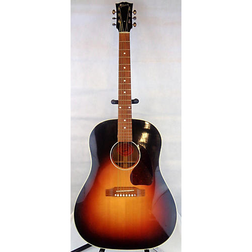 used gibson j45 deluxe acoustic electric guitar guitar center. Black Bedroom Furniture Sets. Home Design Ideas