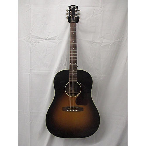 used gibson j45 standard acoustic electric guitar sunburst guitar center. Black Bedroom Furniture Sets. Home Design Ideas