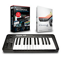 Alesis Q25 25-Key Midi Keyboard Controller Packages  Recording Package