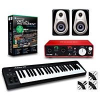 Alesis Q49 49-Key Midi Keyboard Controller Packages  Advanced Virtual Instrument Package