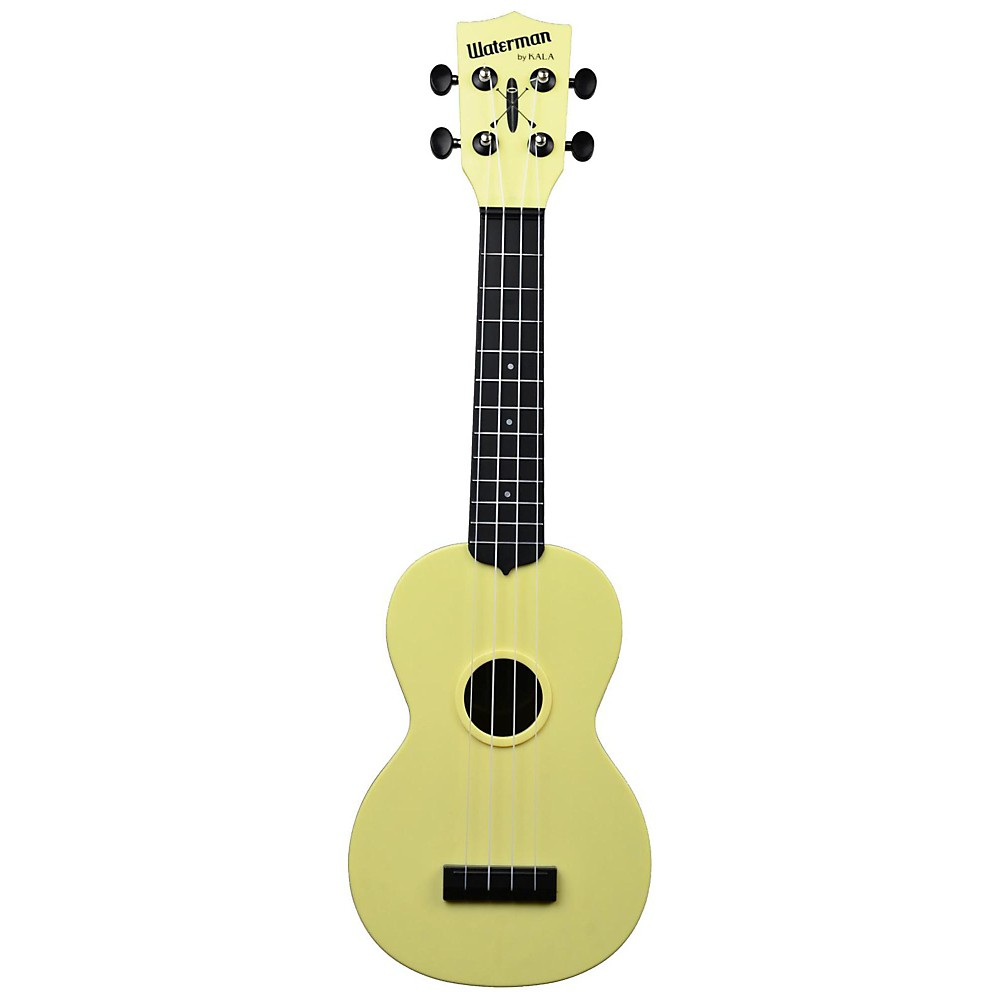 Kala KA-SWB Waterman Soprano Ukulele Pale Yellow 1500000029515
