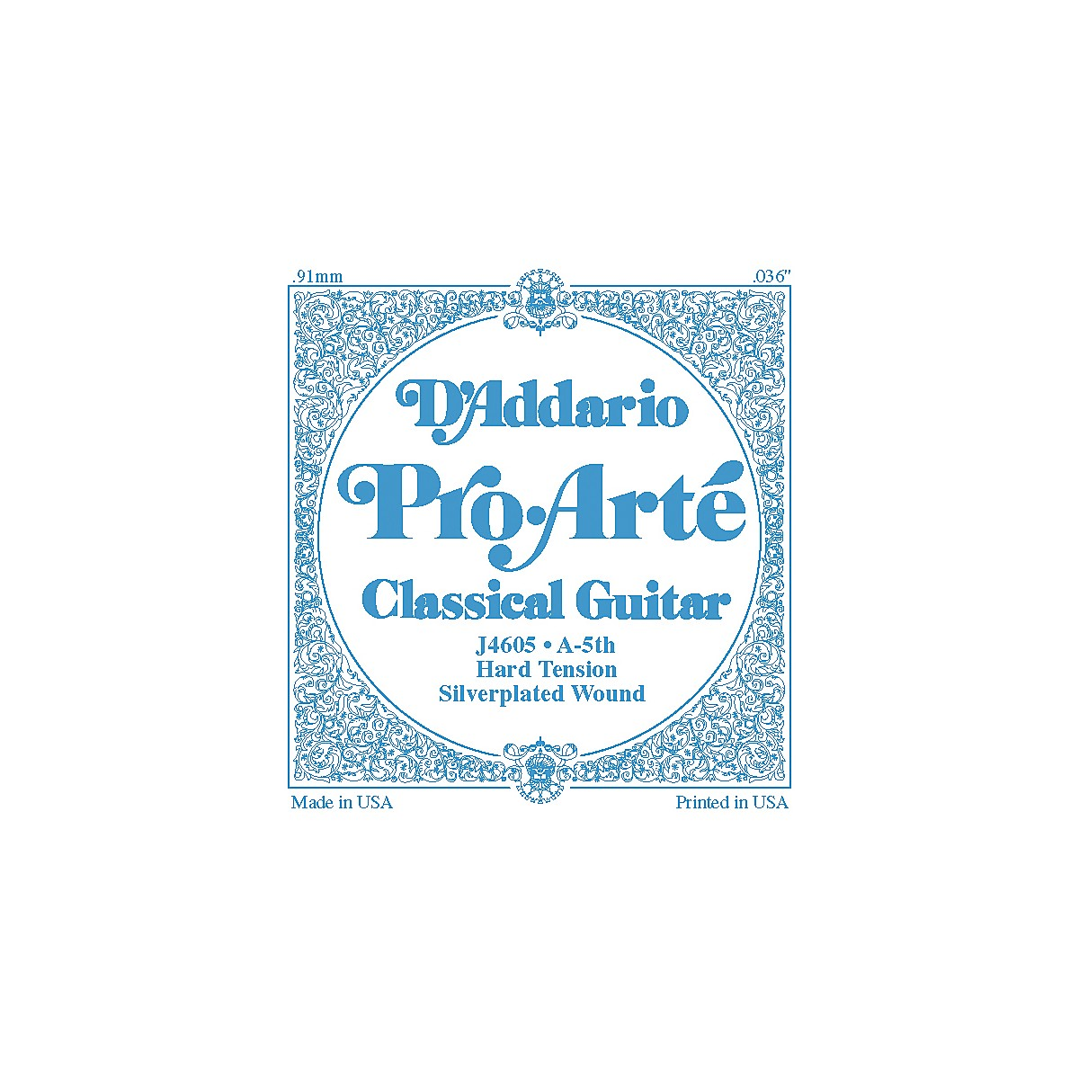 D'Addario J46 A-5 Pro-Arte SP Hard Single Classical Guitar String