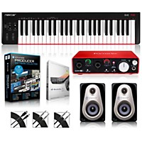 Nektar Se49 49-Key Usb Midi Keyboard Controller Packages  Advanced Production Package