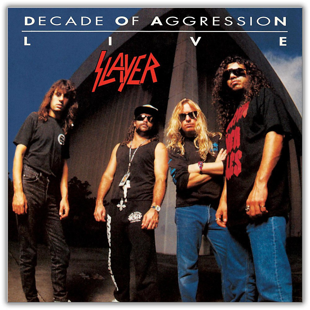 Universal Music Group Slayer - Live:  Decade Of Aggression [2LP] 1500000031026