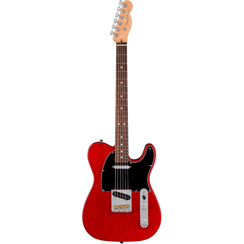 Fender American Professional Telecaster Rosewood Fingerboard Electric Guitar Transparent Crimson