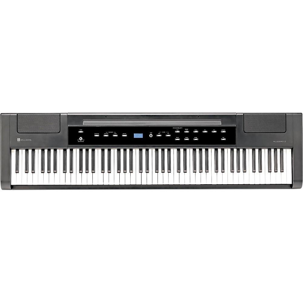 Williams Allegro 2 Plus Digital Piano Satin Black